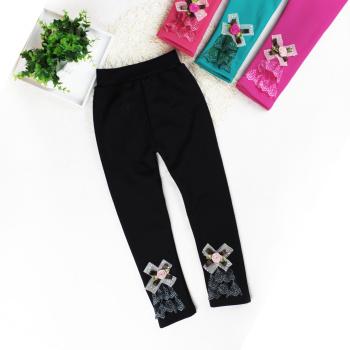 Kids Girls Long Pants Leggings Thicken  Warm (Stock)