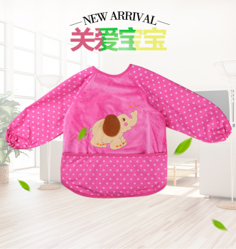 children dress smock winter anti baby food to eat clothes for a winter coat waterproof protective clothing