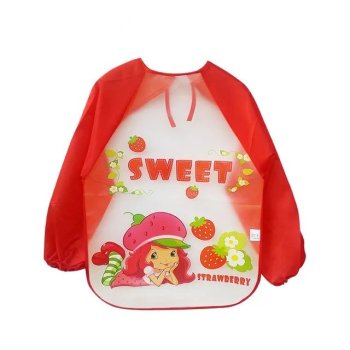 The new baby clothes half a pack of EVA rice inside cartoon overall strengthen waterproof meal Bib clothing wholesale