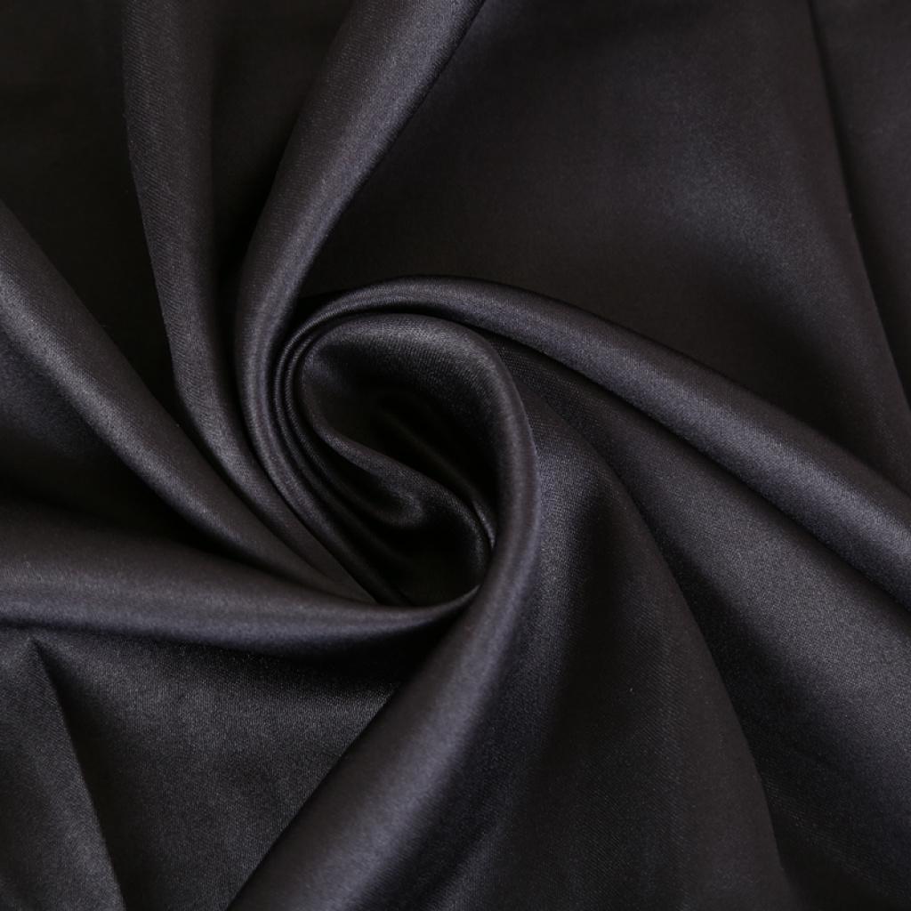 咖啡色哑光色丁边框印花方巾围巾披肩