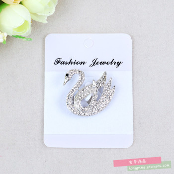 Fashion female corsage Brooch Lapel Pin pin cardigan sweater suit one diamond jewelry
