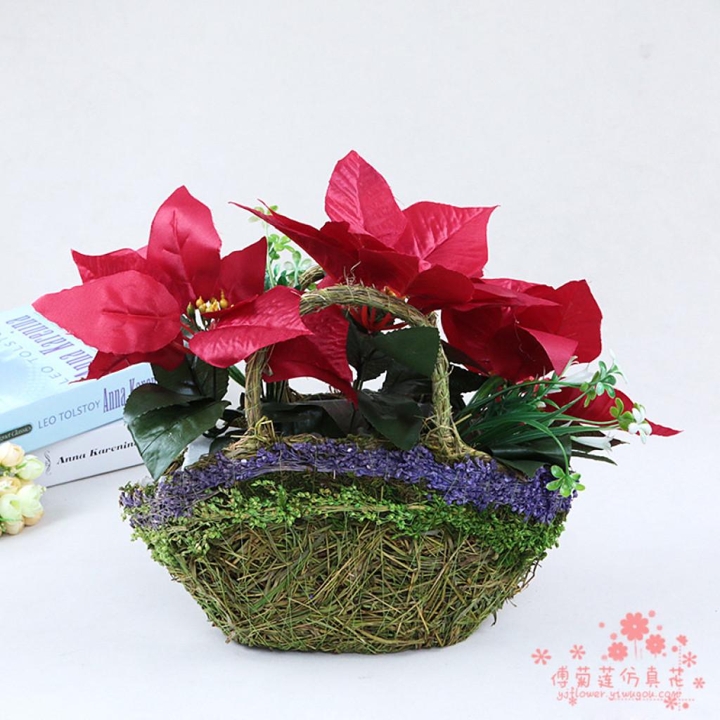 Supply imitation of genuine flower silk flowers and flower baskets imitation of genuine flower silk flowers and flower baskets home furnishing whole floral ornaments mightylinksfo