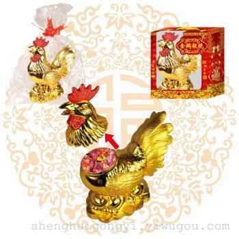 supply plastic chicken candy box decoration ornaments