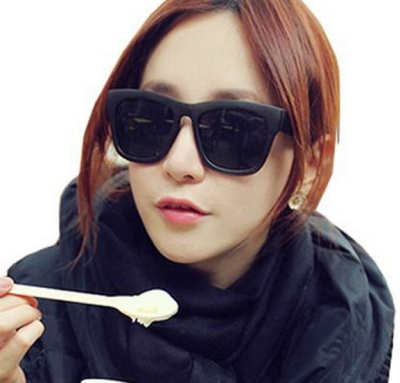 The new Korean fashion trend all-match sunglasses sunglasses