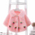 The 2017 Yiwu purchase baby hair Princess fan girls cardigan jacket sweater thick leather grass and children