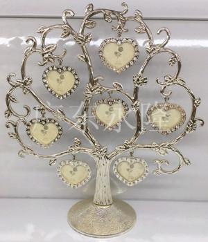 批发创意礼品 树形相框照片树 许愿树金属家居
