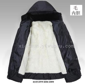 Cheap cotton jacket thick cotton padded clothes stall selling middle-aged Arena