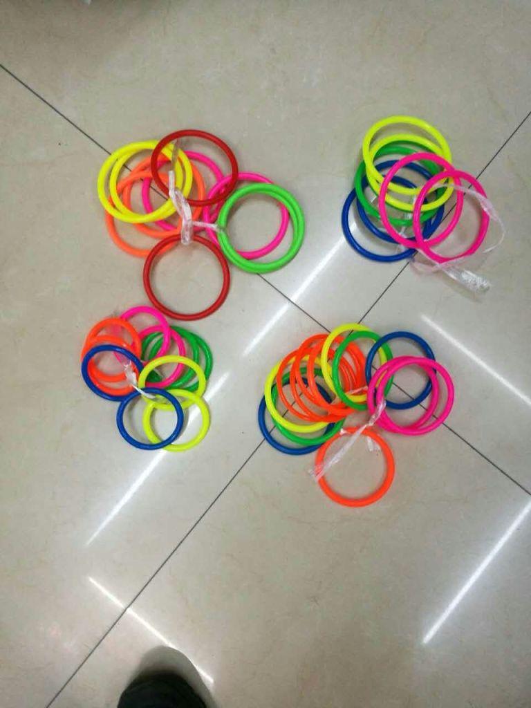 摆地摊专用套圈圈塑料圈儿童玩具套圈游戏幼儿园活动投掷套圈批发