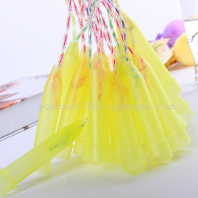 A jump rope exercise equipment fitness equipment plastic colored rope B023