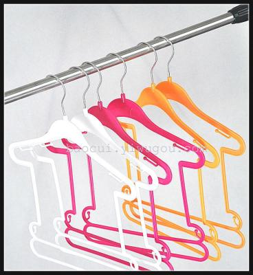 Thickened hook and baby clothes clothing store clothing plastic hangers
