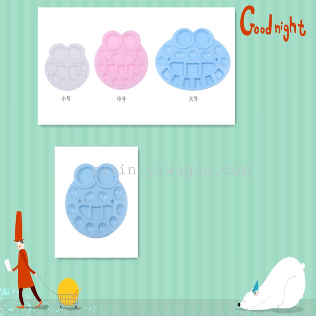 hot dipinto tavolozza tavolozza qualità medio - grandi rana colorati gouache tavolozza dei colori