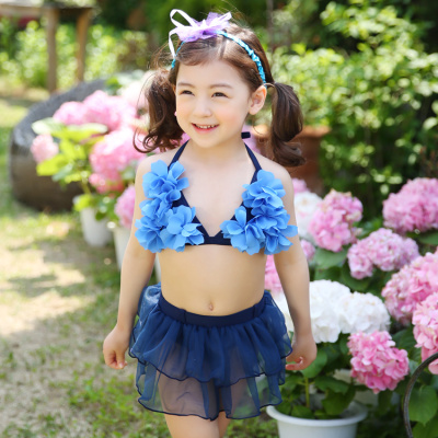 children's infant and young children swimsuit skirt split swimsuit