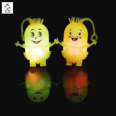 New light smile elastic Maomao children toys wholesale supply light night market stall