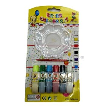 6 colori acrilici acquarello gouache blister i dipinti