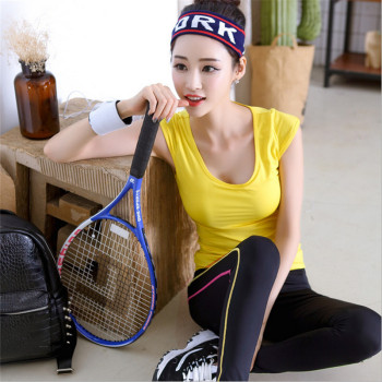 The new spring and summer 2017 Yoga aerobics fitness wear winter female suits sportswear