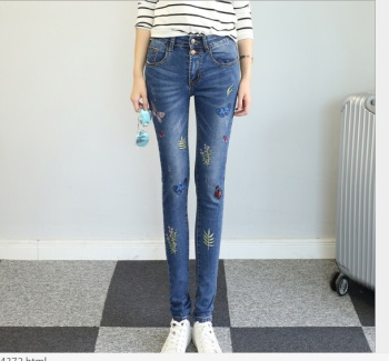 Jeans women trousers pants Slim autumn new tight thin pencil pants women casual pants