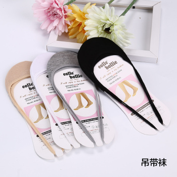 Cotton tape half foot contact socks socks socks lady ballet shallow mouth off with cotton socks