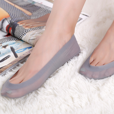 Ultra shallow mouth seamless silk socks are invisible lady socks manufacturers selling socks beautiful silk stockings