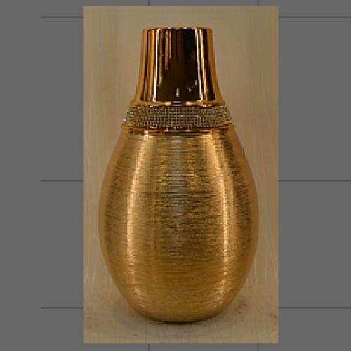 Ceramic crafts, drawing decorative ornaments, vases, with the drilling process