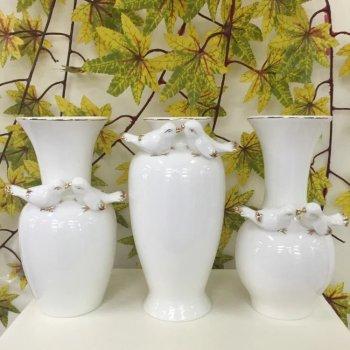 Fine jade porcelain vase flower is high-grade ornaments