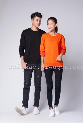 Thin neck Turtleneck Sweater lovers activity group uniforms