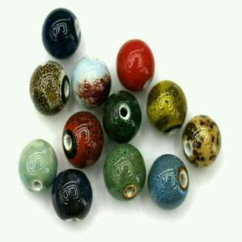 High temperature ceramic beads