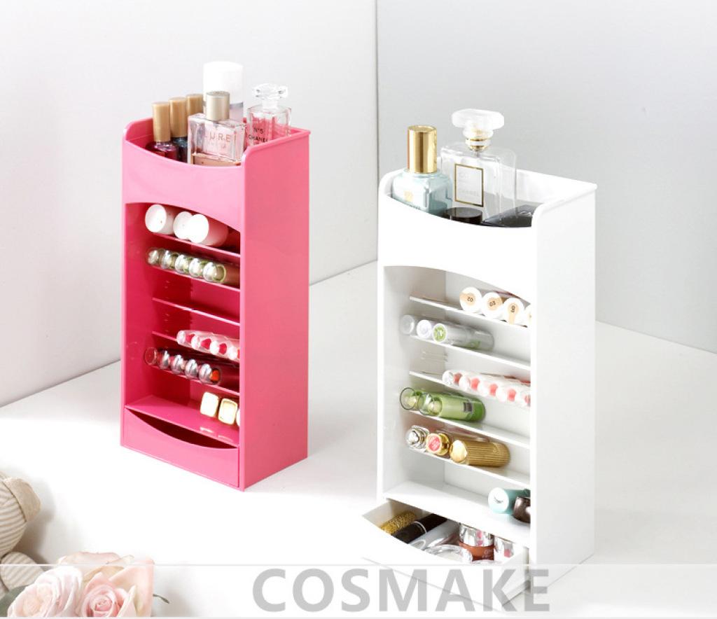 高品质韩国化妆品收纳盒 唇膏指甲油展示架 口红展示架图片