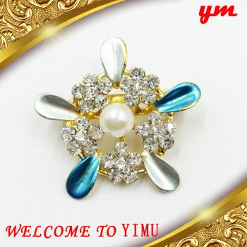 Diamond brooch sweater chain fashion jewelry high-grade Korean female braise Korean pin ...