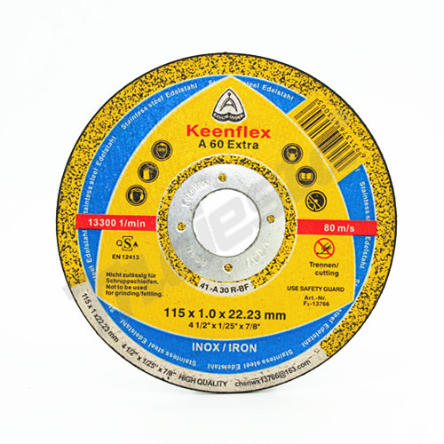 "Keen flex 4.5"" Inox Cutting Wheel"