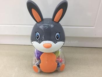 小兔子diy创意环保无毒3d彩泥橡皮泥