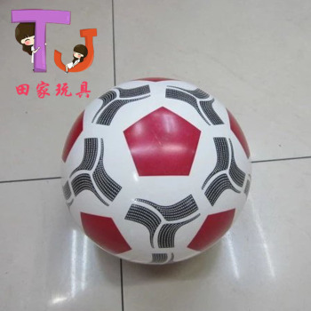 Manufacturers selling 6 inch PVC Shuangseqiu series of children's inflatable toy ball baby birthday gift