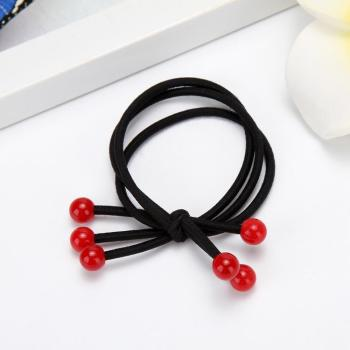 The new version of the ring band red cherry hair Tousheng shops selling 2 yuan wholesale hair rope bag mail