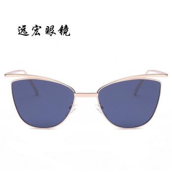 New fashion sunglasses colorful personality Cat Eye Sunglasses