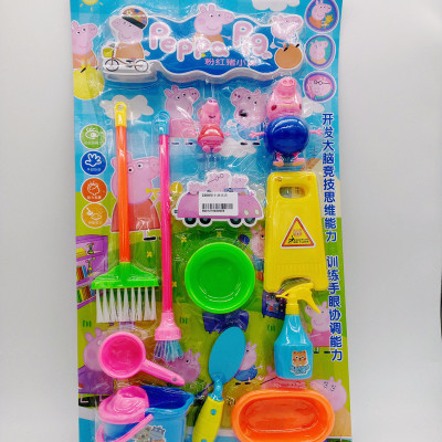 The new model of children's toys, toys, plastic toys, plastic toys, pig baby