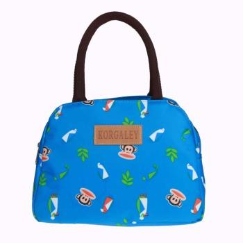 帆布防水包休闲妈包奶奶包出行包时尚三袋街拍包功能包