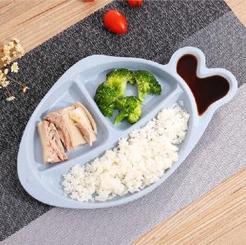 Wheat straw fish dumplings vinegar dish Boiled dumplings dribbling household tableware plate plastic dishes dish dish