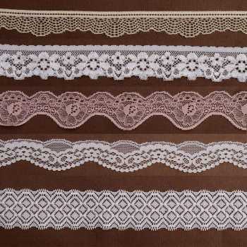 Elastic Tricot Lace Trimming for Underwear and Lingerie