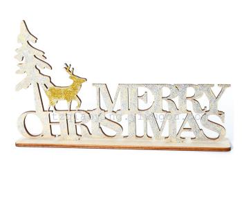Factory wholesale wood crafts creative gift decoration decoration Christmas ornaments Home Furnishing wood