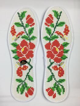 针孔鞋垫十字绣鞋垫鞋垫针孔
