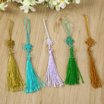 Factory Outlet color classic Chinese knot jade tassel hanging tassel ornaments multi-color optional