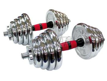 Small barbell dumbbell fitness 30KG HJ-A051 plated combination with removable