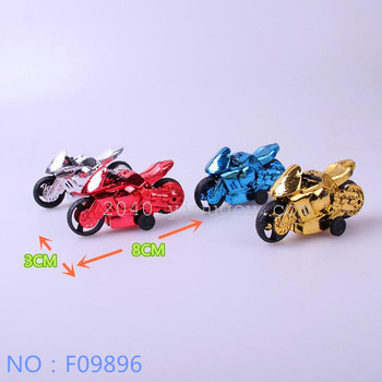 The new children's toys wholesale trade spread four pack toy motorbike model