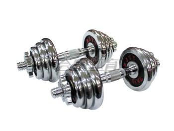 HJ-A041 colorful removable 15kg plated combination small barbell dumbbell fitness kg