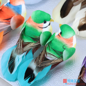 Creative Home Furnishing ornament lovely bird ornaments simulation crafts decoration living room TV cabinet