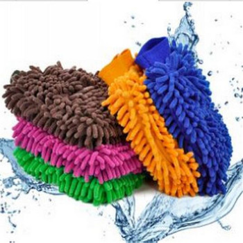 Single fiber chenille universal cleaning cloth cleaning cloth cloth washing gloves