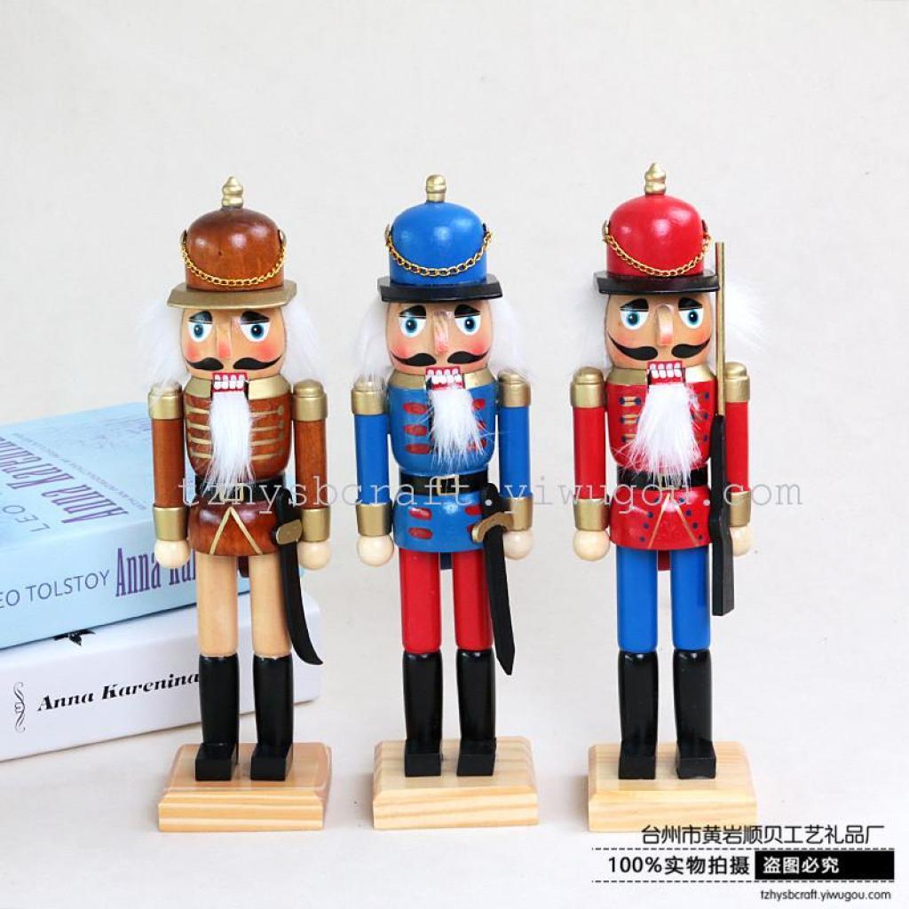 胡桃夹子木偶士兵摆件创意家居生日礼物