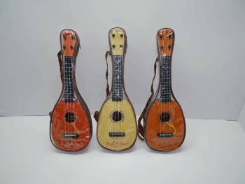 Children's educational early childhood four-string guitar youkelilike fruits play a musical instrument toys wholesale