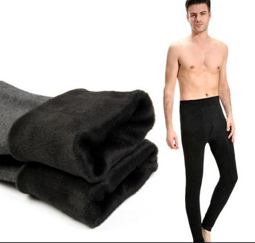 The man with thick warm winter cashmere trousers tight Leggings long underwear pants male one long underwear