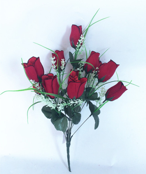 12 head with flower decoration export lover ray flowers on Valentine's day the Qixi Festival cloth simulation