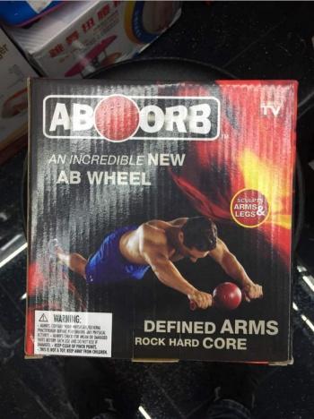 Fitness ball push up ball fitness equipment supplies aboorb AB WHEEL